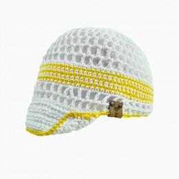 Детская вязаная кепка с козырьком CAP